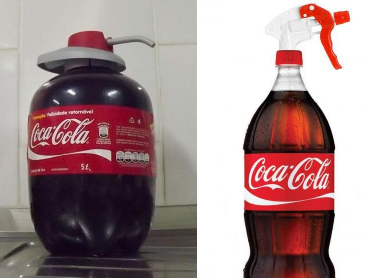 Coca-Cola as cleaner