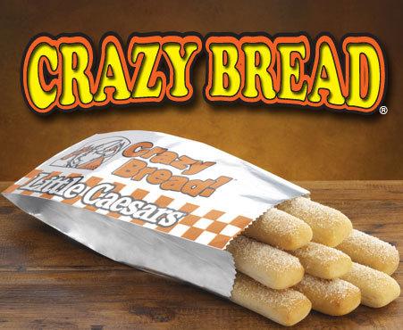 Little Caesars bread