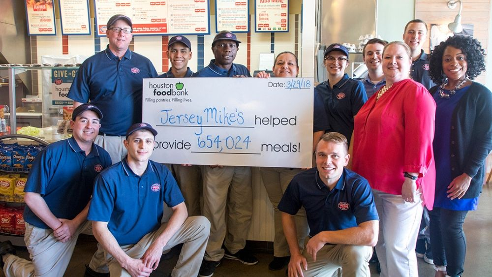 Jersey Mike's Subs Charity