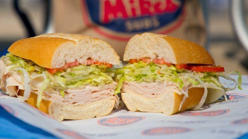 Jersey Mike's sandwich