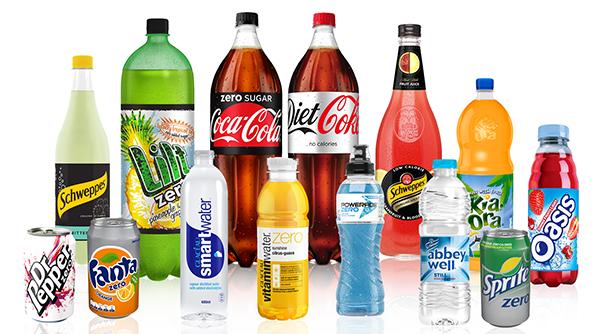 Coca-Cola Low Calorie Drinks Range