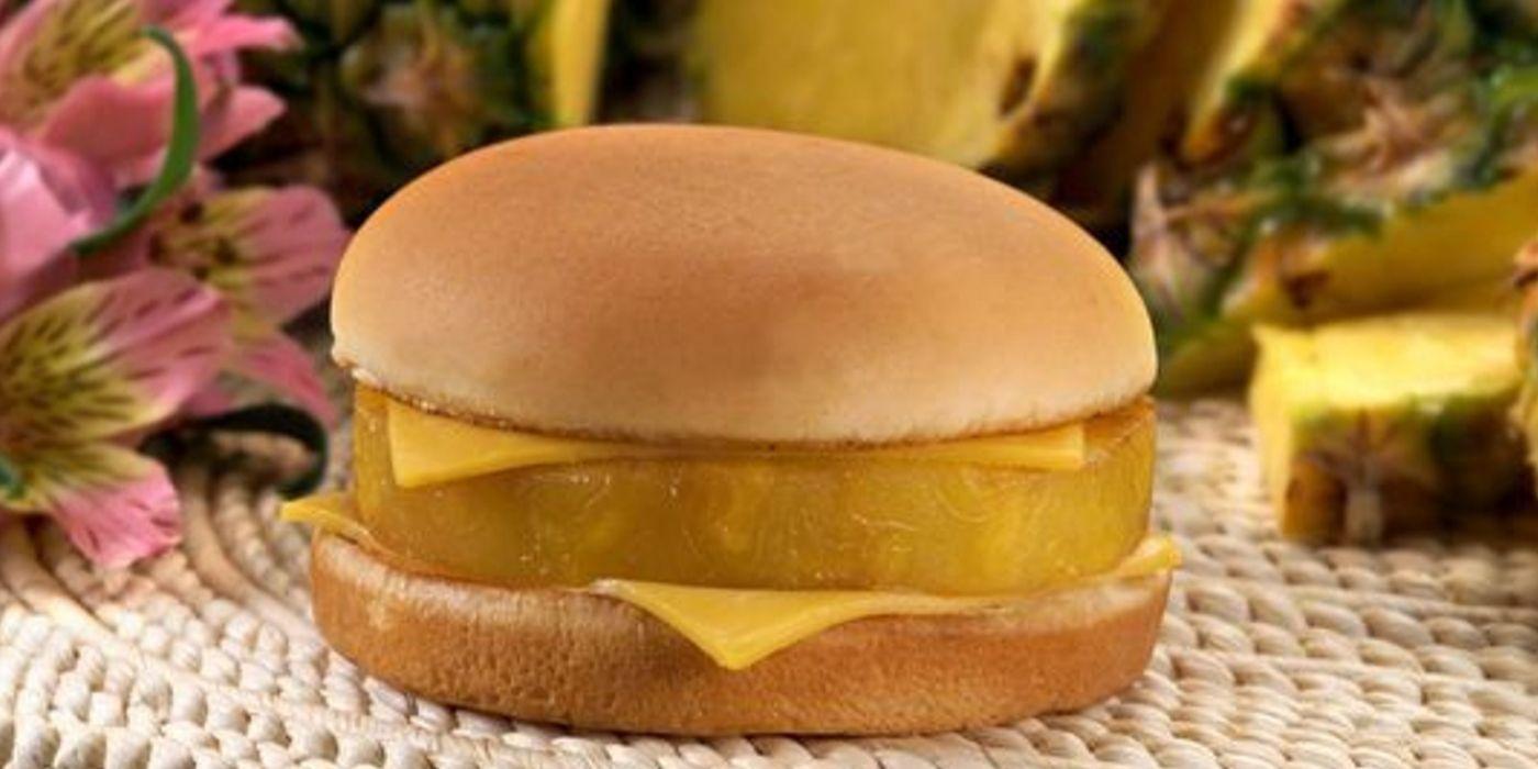 McDonald's Hula Burger