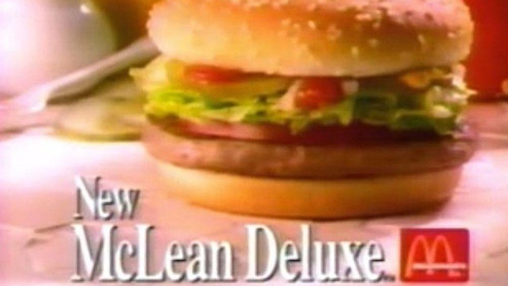 McDonald's McLean Deluxe