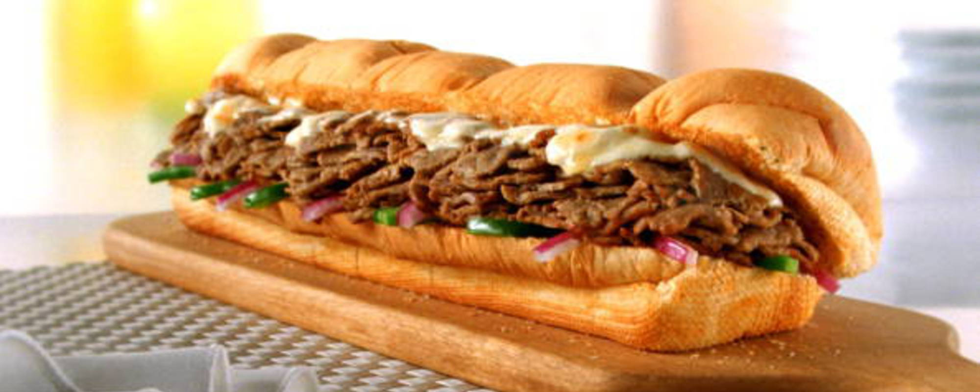 Steak and Cheese by Subway
