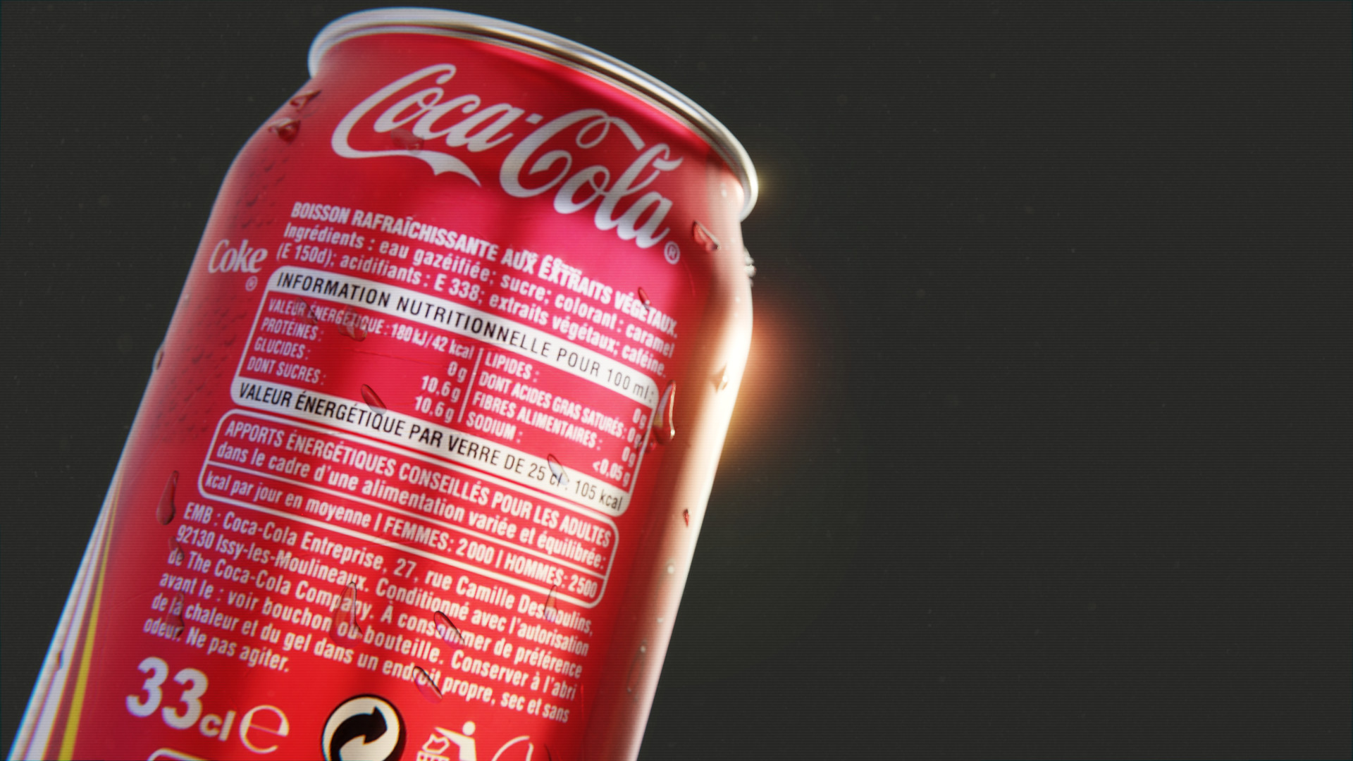 Coke ingredients