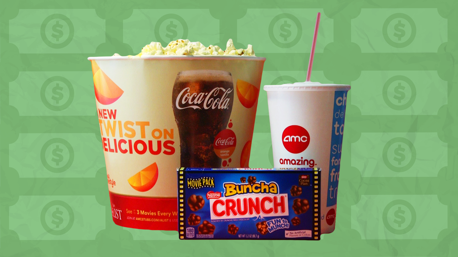 expensive movie theater concessions fare