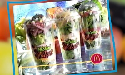 Three McDonalds McSalad Shakers