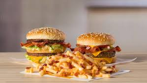 Double Quarter Pounders with Poutine