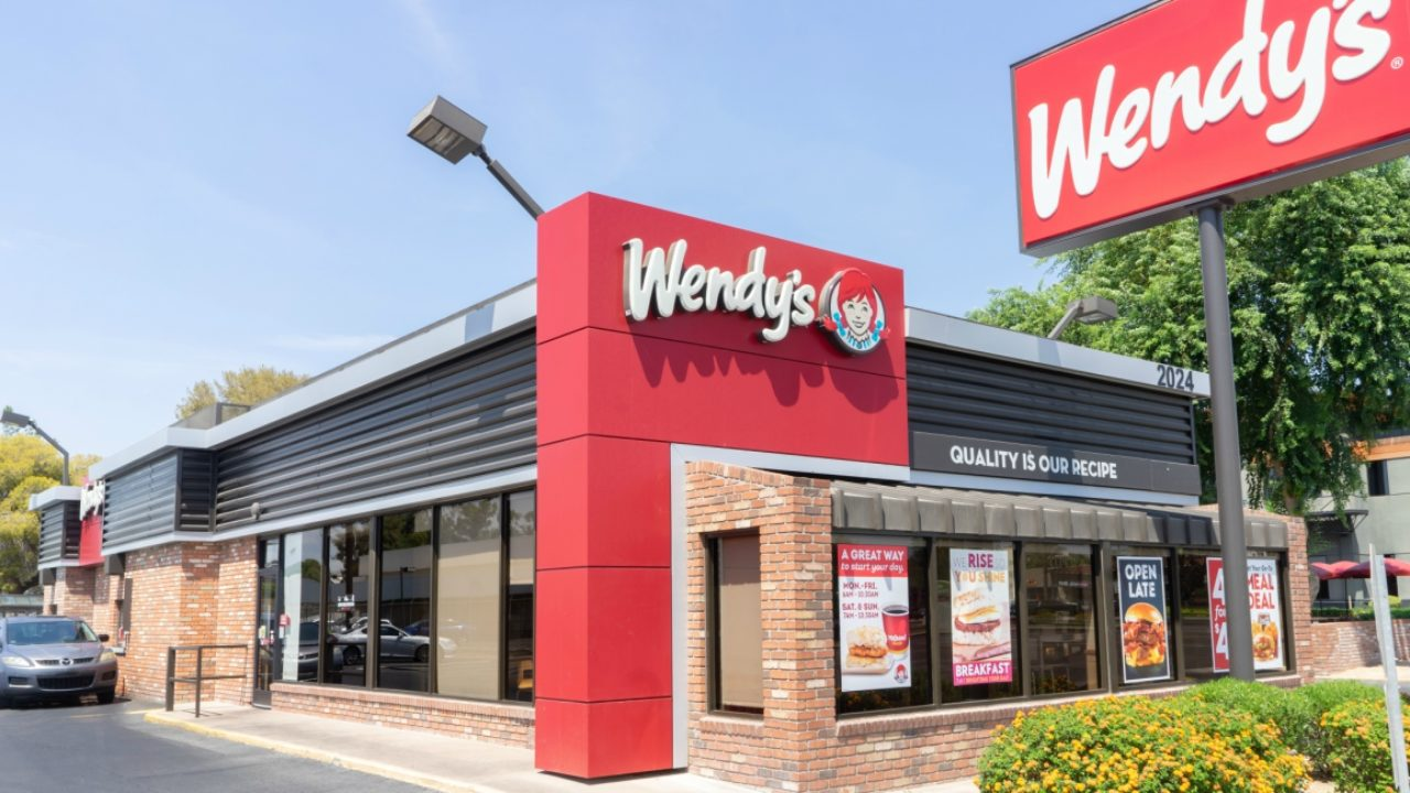 Wendy's Upgraded Restaurant
