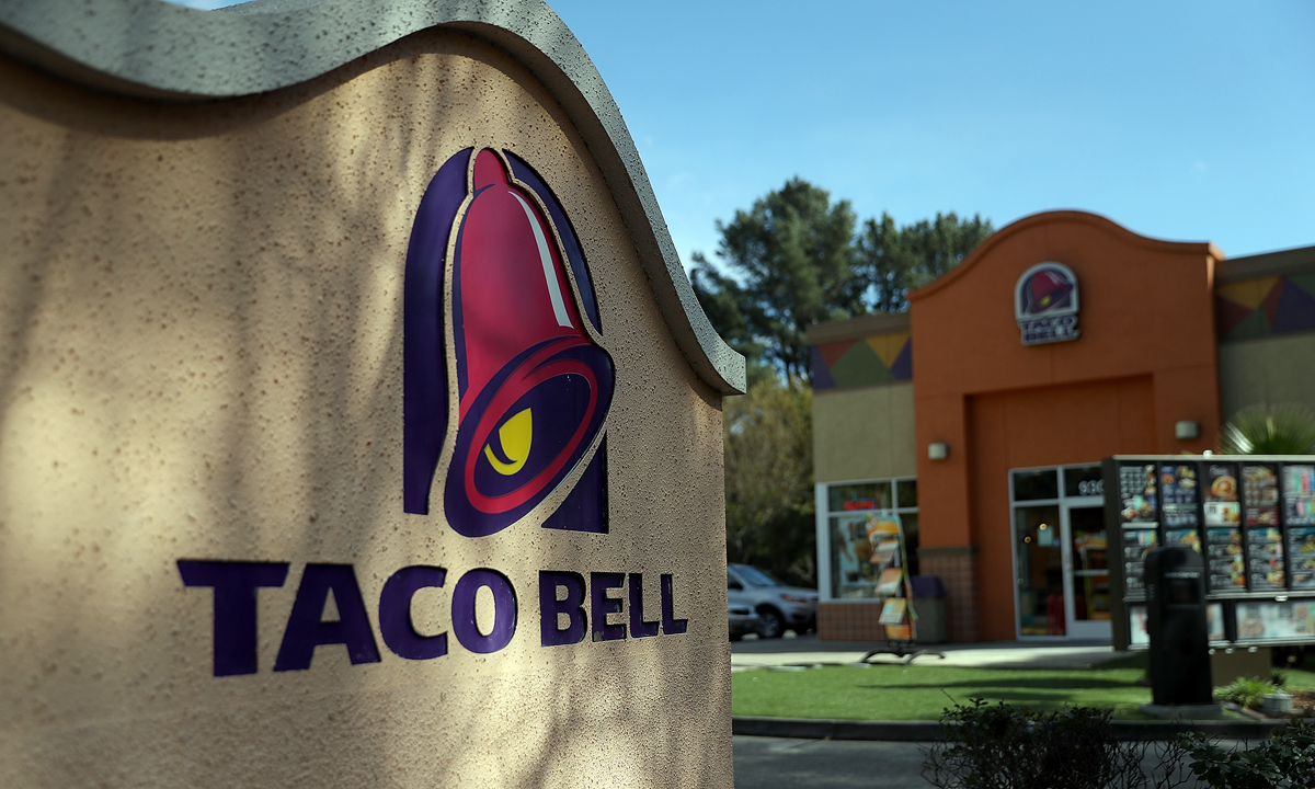 Taco Bell Restaurant and Signage