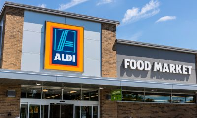 An Aldi food market
