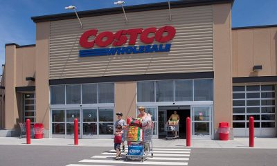 A Costco wholesale retailer.