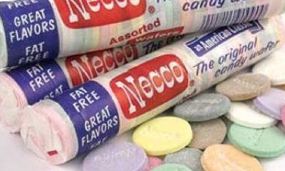 Packages of NECCO wafers