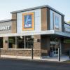Aldi Grocery Store Newly Designed Corner Shot