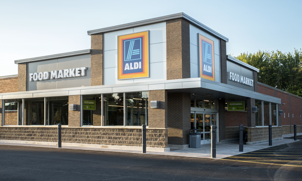 Aldi Corner Grocery Store