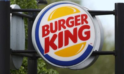 Burger King Sign Centre Image Turned Off