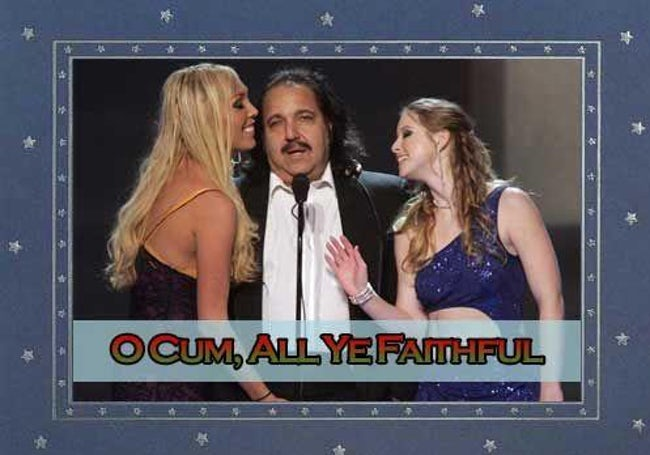 awkward xmas photos celebrities 10 ron jeremy