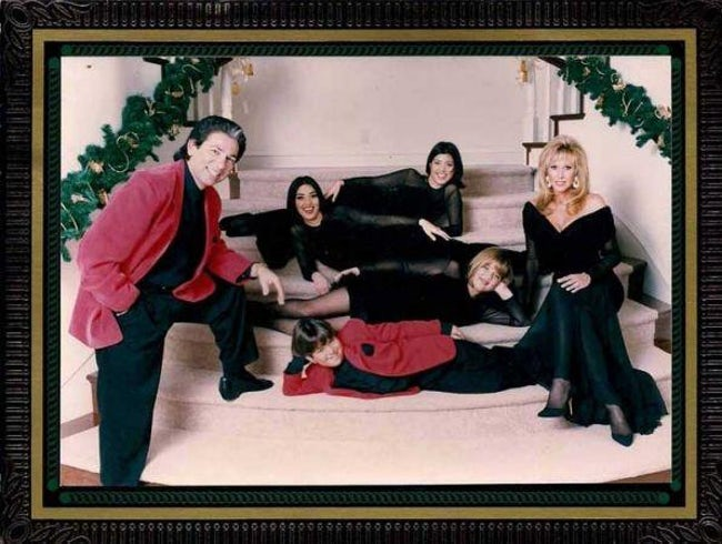 awkward xmas photos celebrities 13 kardashian 1