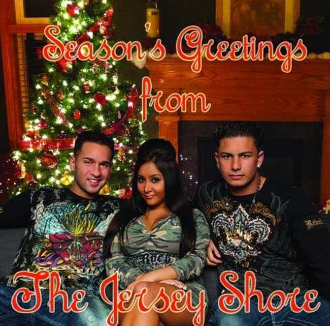 awkward xmas photos celebrities 19 jersey shore