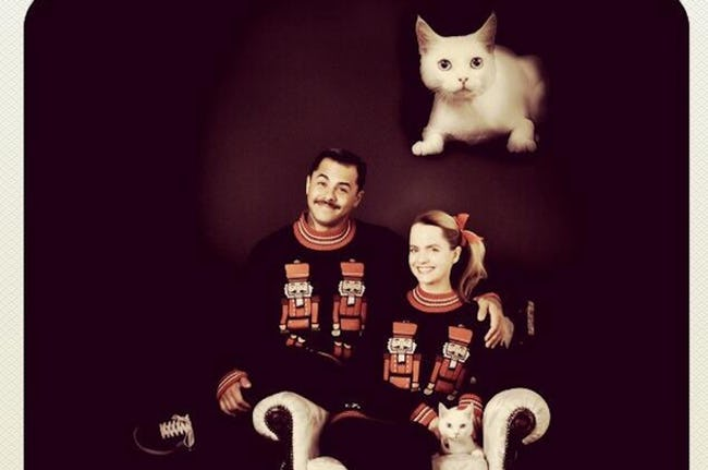 awkward xmas photos celebrities 4 mena suvari